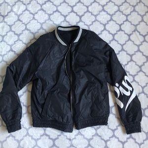 Reversible Sherpa PINK bomber jacket